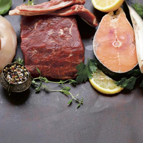 Kød, fisk og fjerkræ