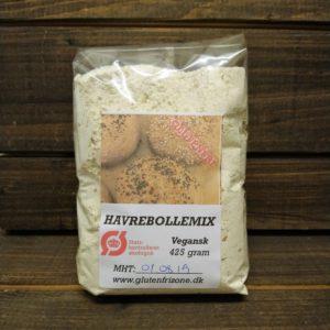 Havrebollemix, Glutenfri Zone, Økologisk, Glutenfri. Mælkefri